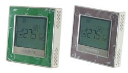 Touch Screen Fan Coil Room Thermostat With 3speed