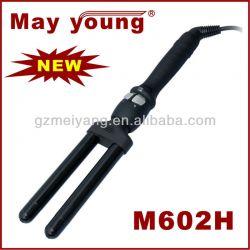 Ceramic 2 Barrel Hair Curling Iron M602h