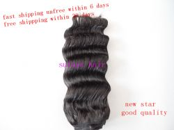Brazilian Hair Deep Wave Weaves
