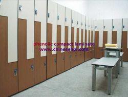 3 Doors School Locker Compact Laminate