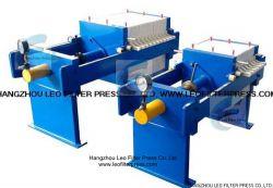 Leo Filter Press Manual Hydraulic Filter Press