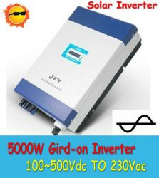 5000w Solar Grid Tie Inverter With Ce Approved