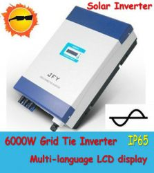 6000w On Grid Solar Inverter With High Speed Mppt