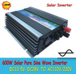 600w Solar Power Inverter Pure Sine Wave Inverter