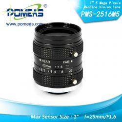 "1\"" 5mp Fl25mm Machine Vision Lens"