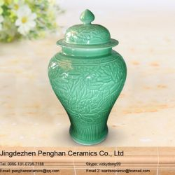 Jingdezhen Color Glazed Ceramic Temple Jar