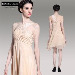 Chiffon Empire Elegant Short Evening Dress