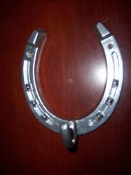 Aluminium Horseshoe With Hook