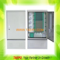 288 Fibers Outdoor Steet Cabinet Smc Fiber Cabinet