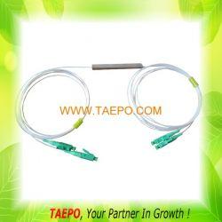 Plc Steel Tube Fiber Optic Splitter