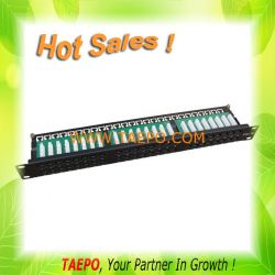 "19"" 1u Cat5e 48-port Patch Panel"