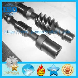 Customed High Precision Worm Shaft