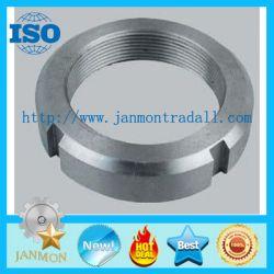 Zinc Plated Castellated Shaft Lock Nut