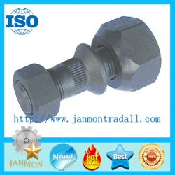 Customed High Strength Black Front Bolt