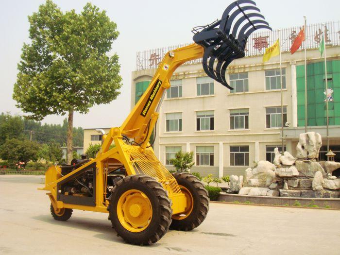 Tri- Wheel Sugarcane Grab Loader - Qingzhou Shenwa Machinery Co ,ltd