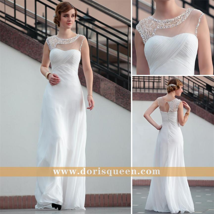 Sexy White Semi Formal Dress Evening Dresses Dongguan Haoli